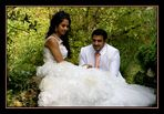 Das Brautpaar  unter sich.....