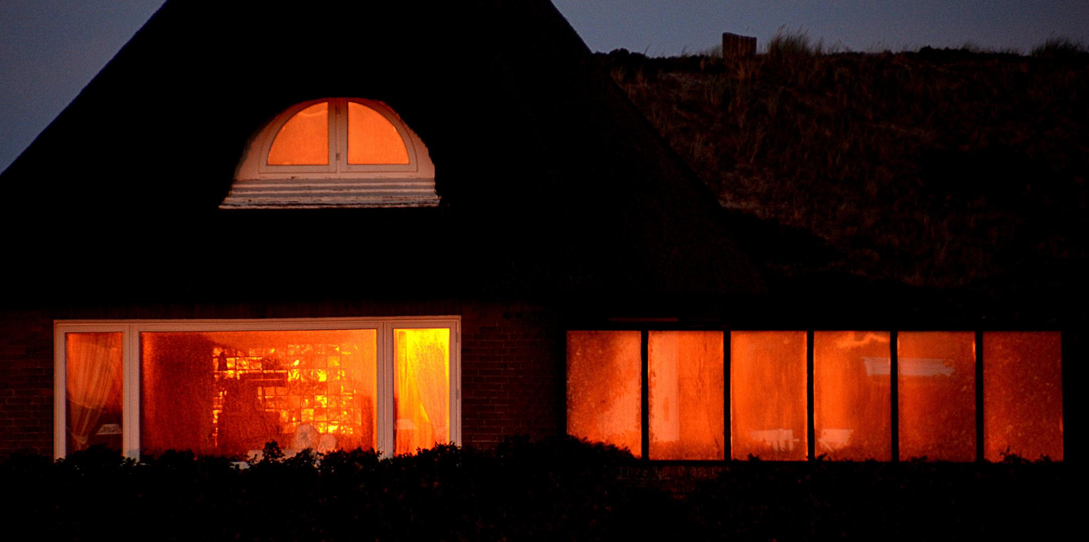 Das brennende Haus - 2. Versuch