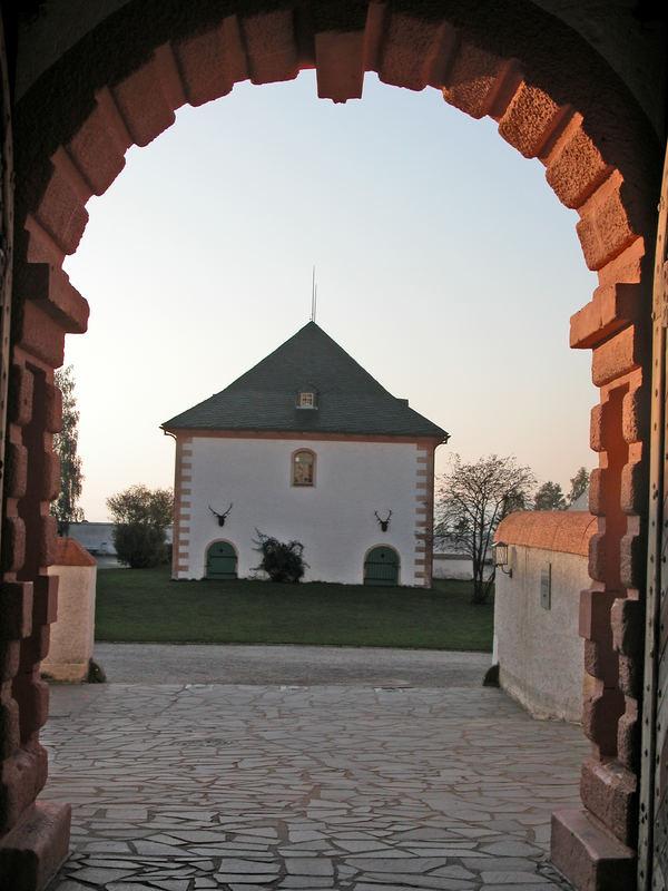 Das Brunnenhaus der Augustusburg (Erzgebirge)