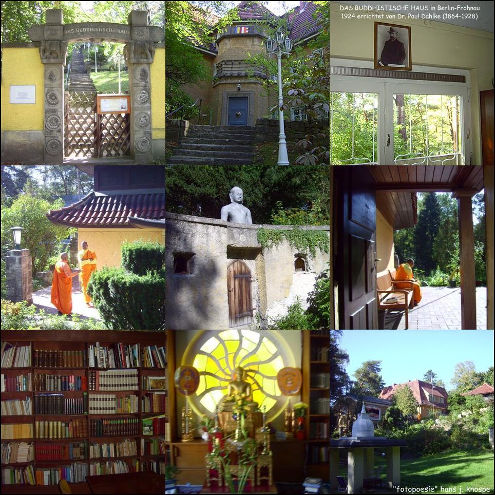 Das Buddhistische Haus in Berlin Frohnau Foto & Bild