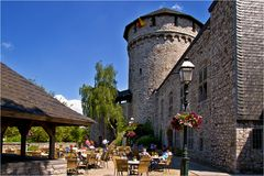 Das Burgcafe in Stolberg/Rheinland