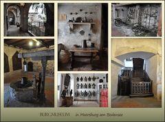 das Burgmuseum...