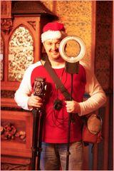 Das Christkind sollte dem Nikolaus mal ne neue Kamera schenken, gell?
