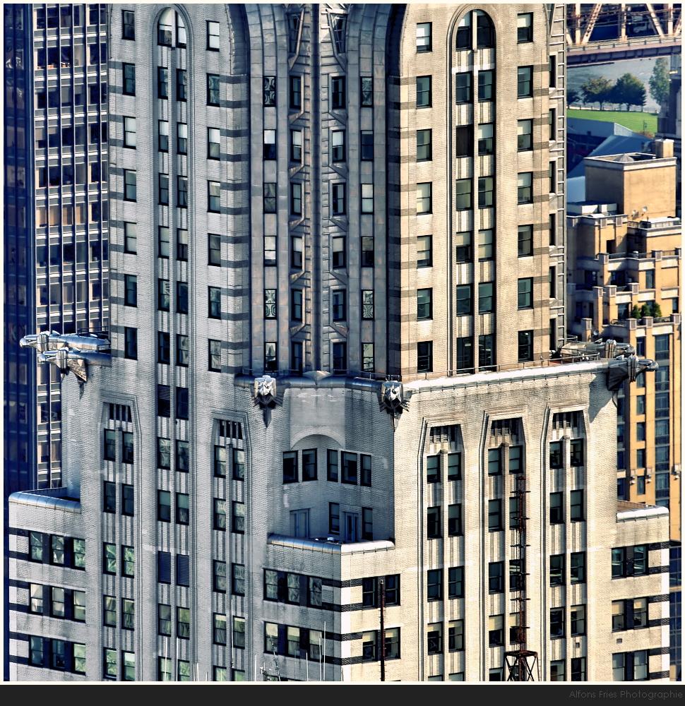 Das Chrysler Building ...