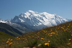 """Das """"Dach"""" des alten Europa - der Mt. Blanc (4810m)"""