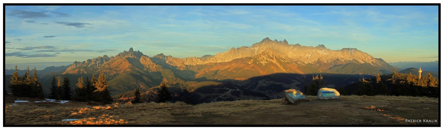 Das Dachsteingebirge