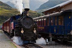 Das Dampfbahnerlebnis am Rhone-Gletscher (3)