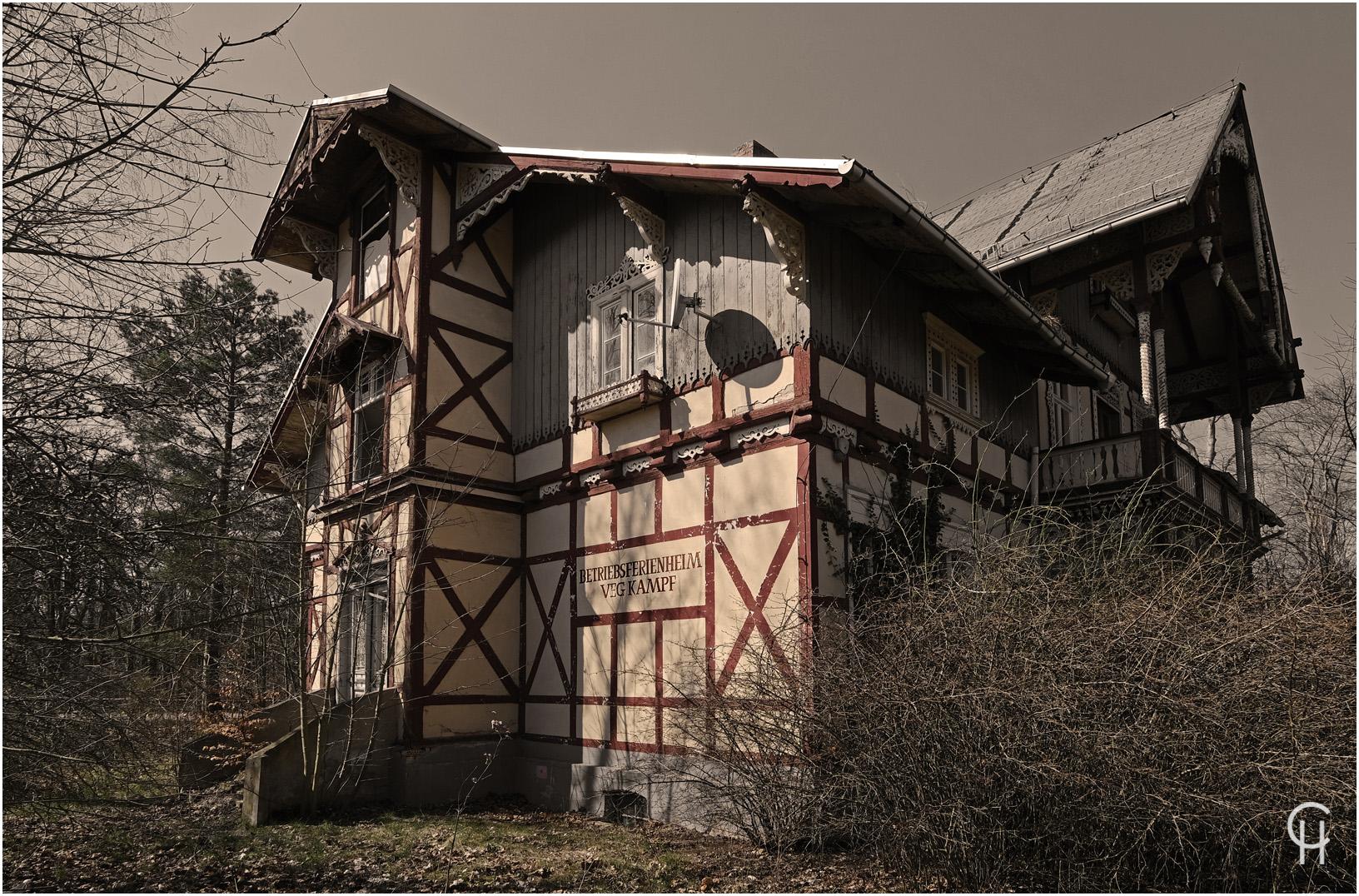 Das DDR Betriebsferienheim VEG Kampf