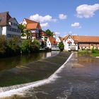 Das Donauwehr in Riedlingen