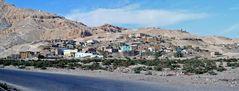 Das Dorf Qurna lag am Rand der thebanischen Berge.