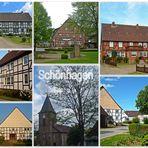 Das Dorf Schönhagen im Solling / Niedersachsen