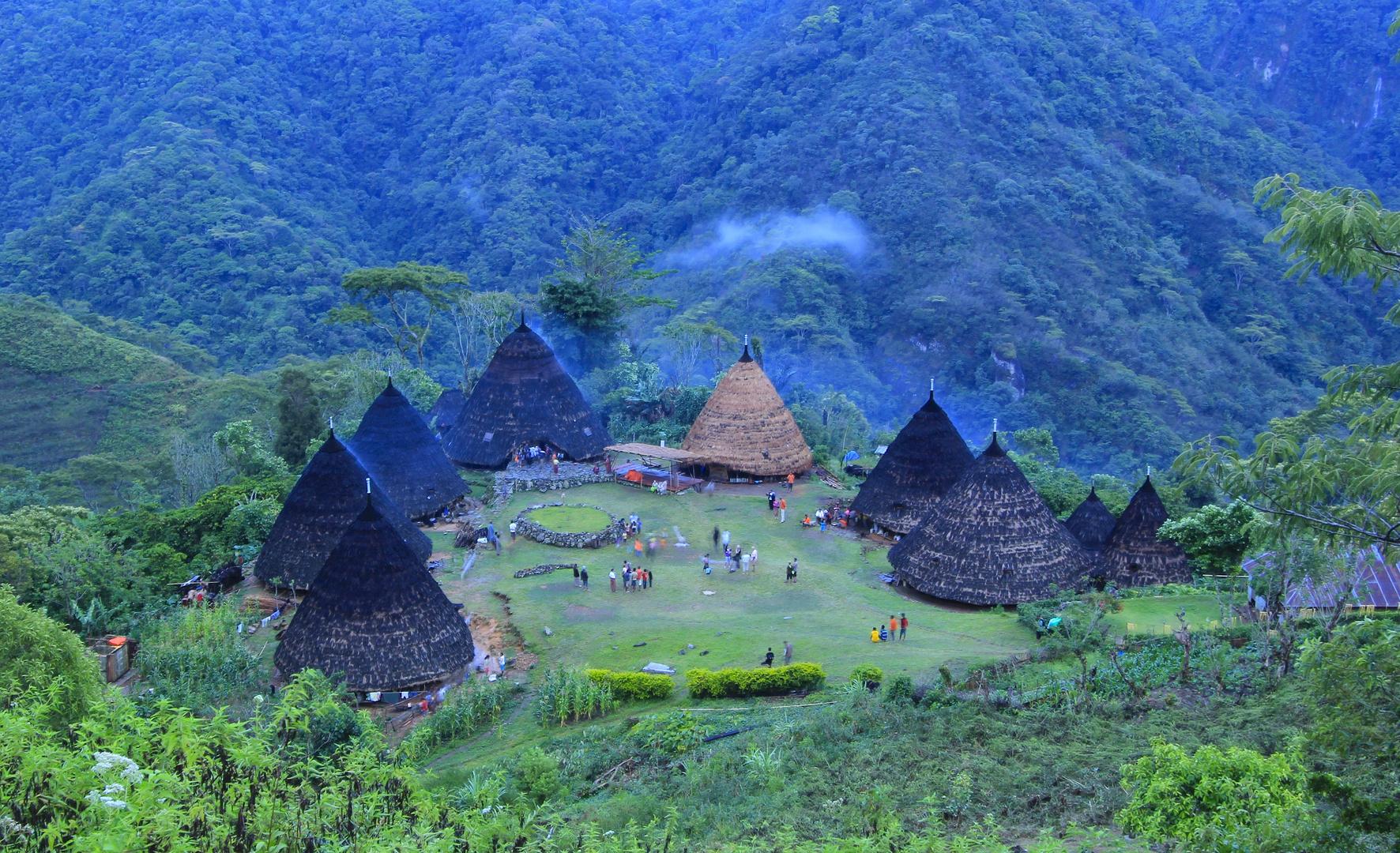 Das Dorf Waerebo