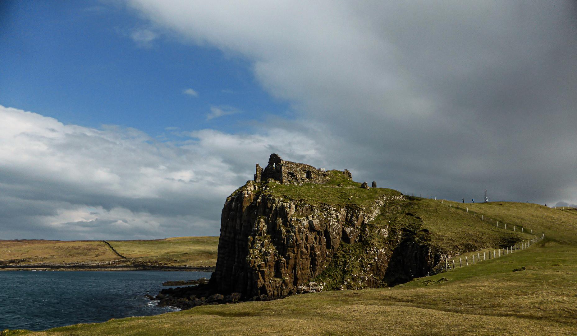Das Duntulm Castle...