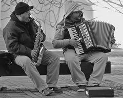 Das Duo mit der Kiste - Saxophon meets Akkordeon