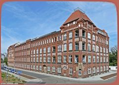 Das ehemalige GRW-Verwaltungsgebäude  ..
