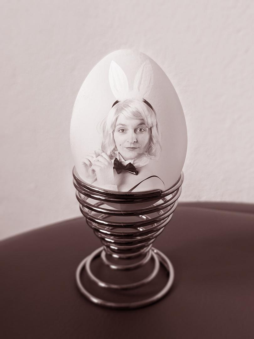 Das Ei des Osterhasen... ok oder der Häsin ;)