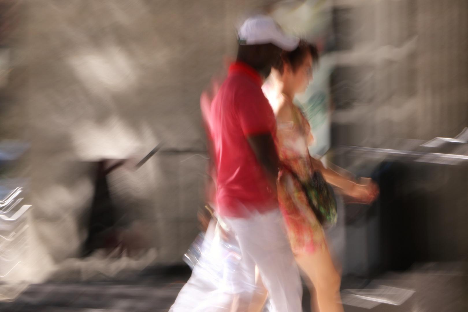 das eilige Paar