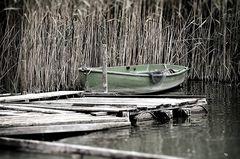 Das einsame Fischerboot