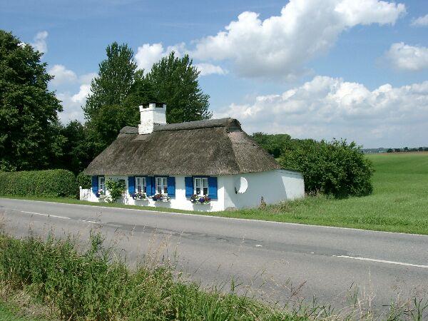 Das einsame Haus am Stadtrand