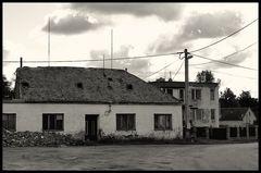 das einzige Gasthaus im Dorf