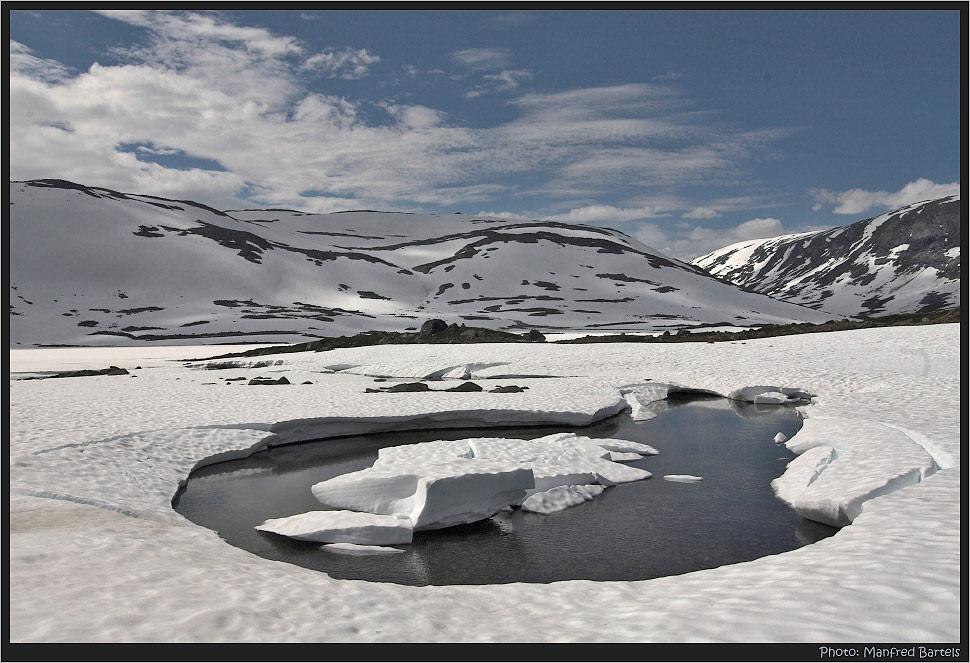 Das Eis bricht auf...es wird Sommer...