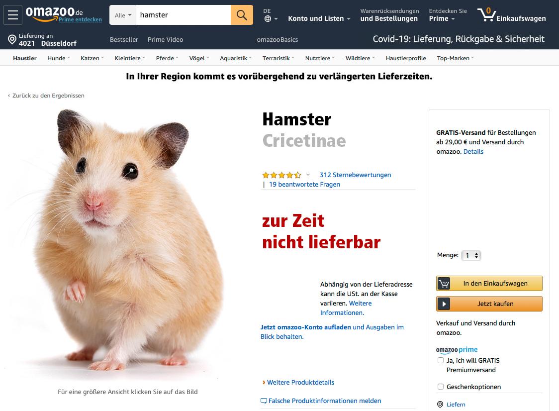 Das Ende der Hamsterkäufe