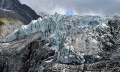 Das Ende des Gletschers