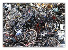 Das Ende eines Fahrradlebens