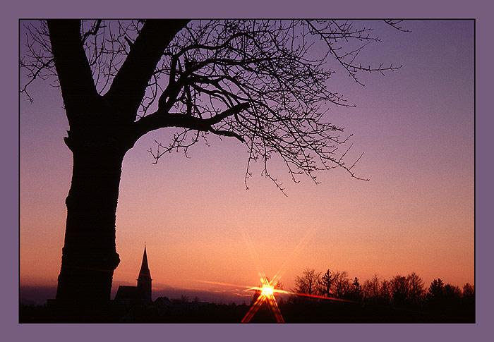 Das Ende eines schönen Tages........
