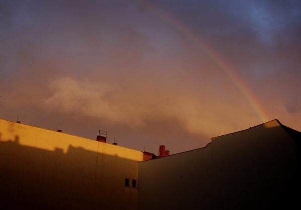 das entäuschende ende vom regenbogen...