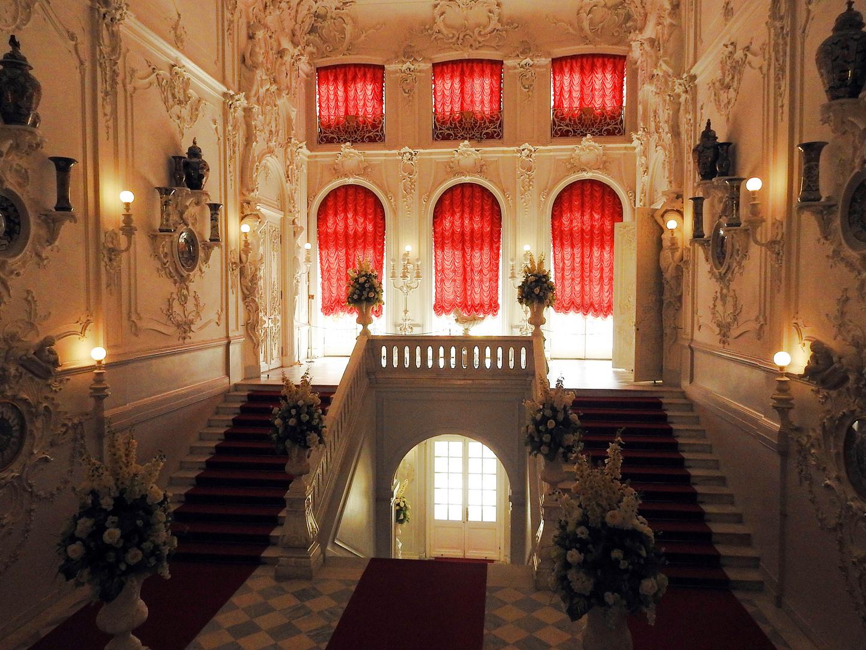 Das Entree vom Katharinenpalast