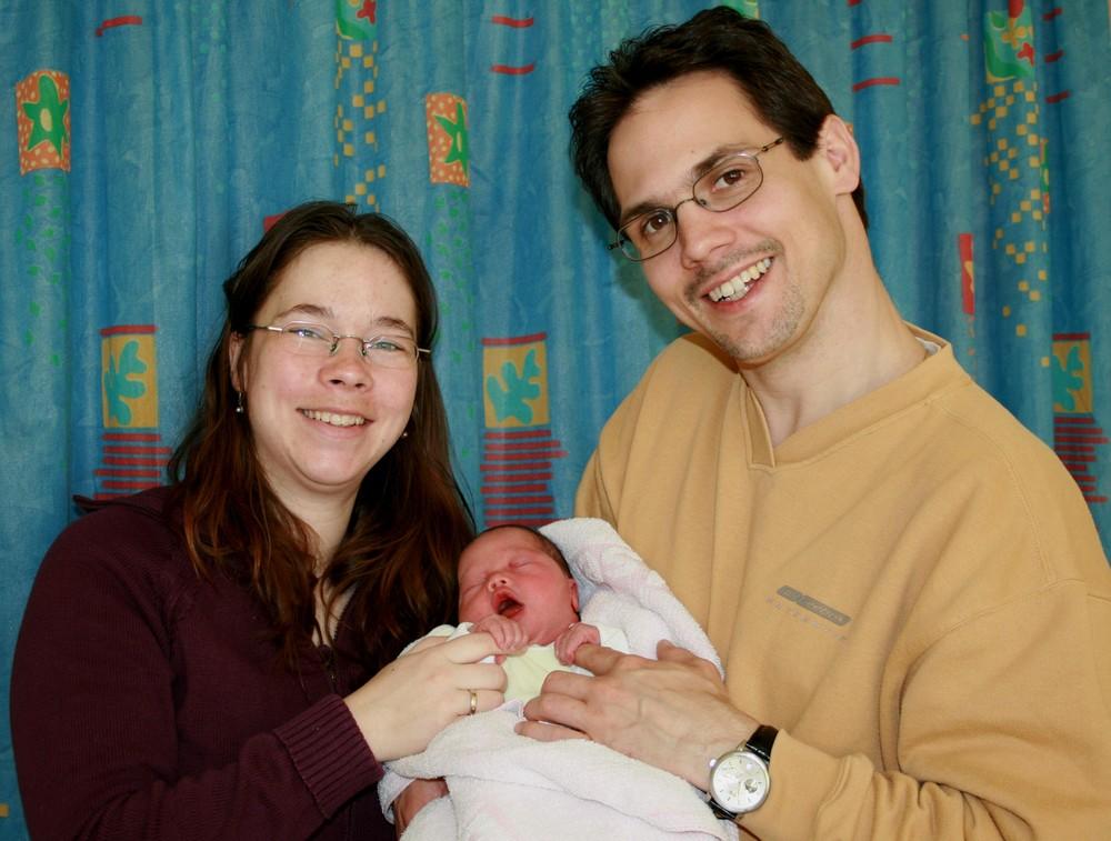 Das erste Familienportrait