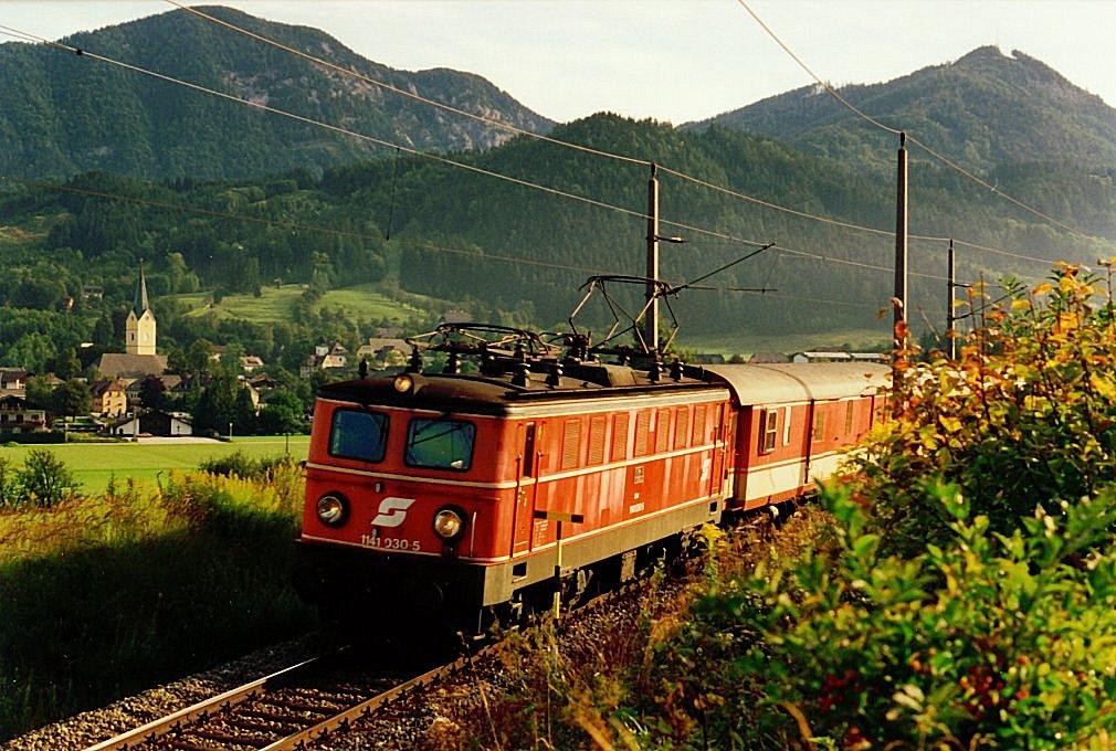 Das erste Mal durch den Bosrucktunnel, Spital am Pyhrn, 07.09.1993