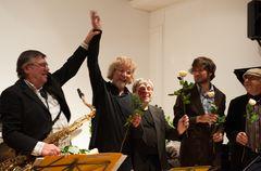 Das European-Jazz-Ensemble unter Ali Haurand,