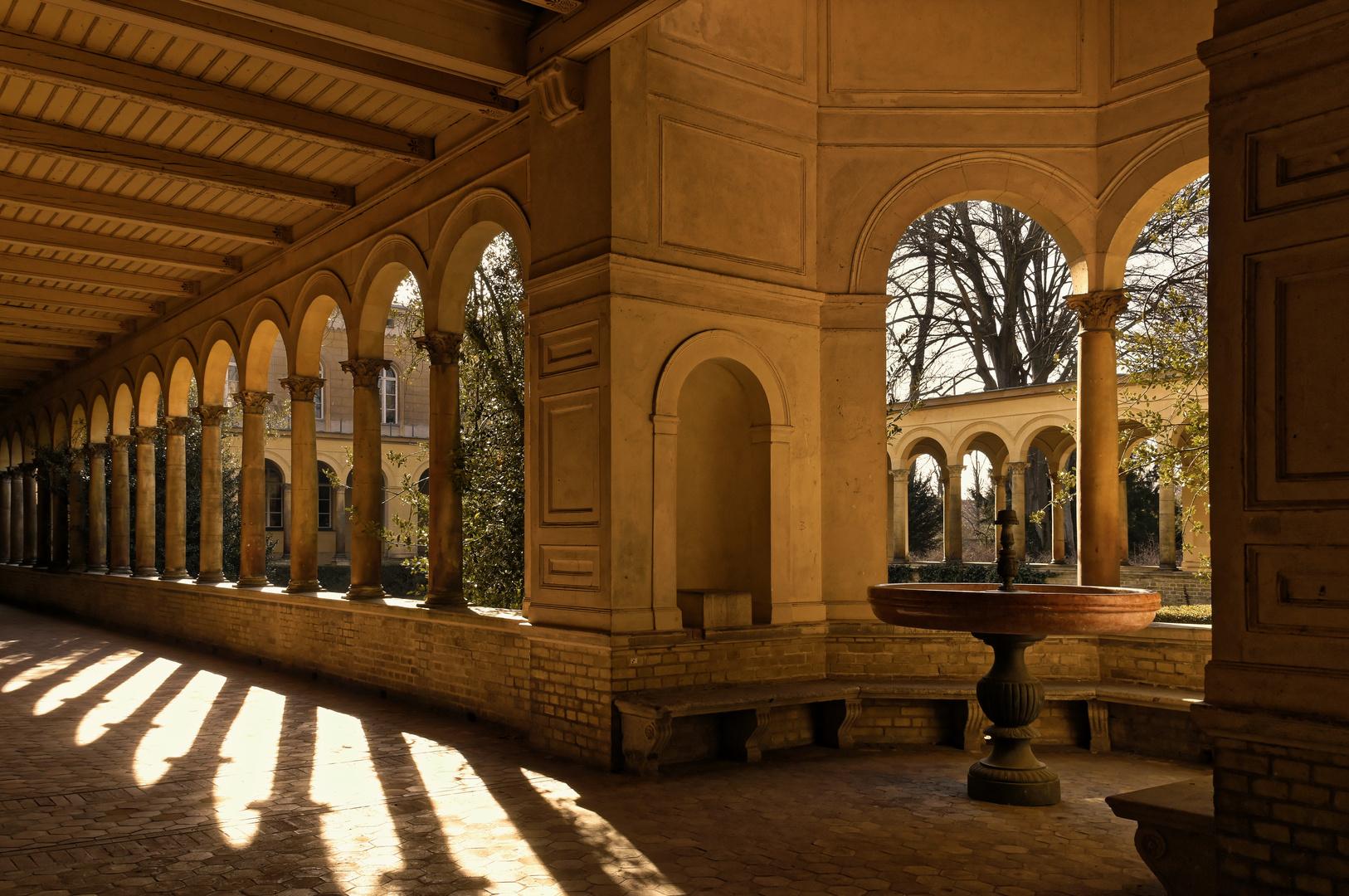 Das ewige Licht.....  - Potsdam Schlösser und Paläste -