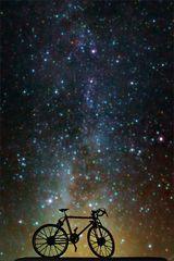Das Fahrrad und die Milchstraße