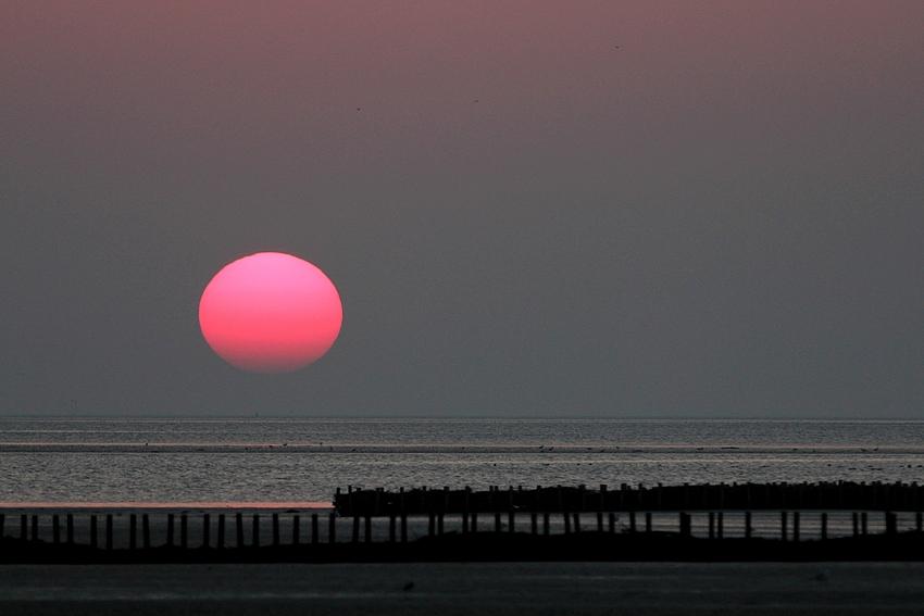 Das Farbenspiel der Sonne