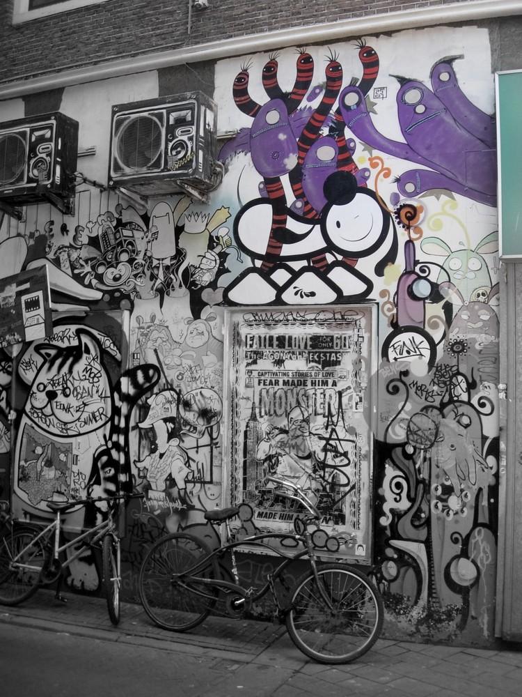 Das fast bunte Grafitii
