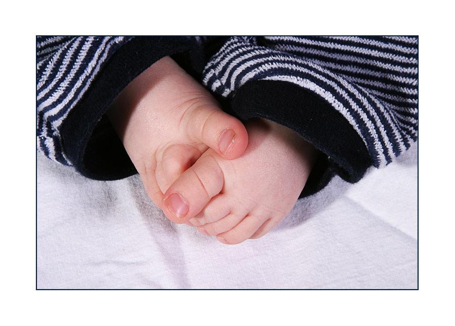Das Fazit der Geschichte:Fingernägel schneiden ist einfacher als Fußnägel