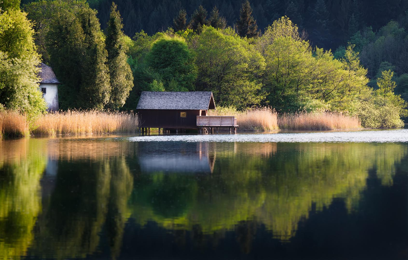 Das Fenster am See