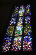 das Fenster in der Kirche