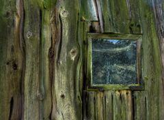 Das Fenster in der Scheune