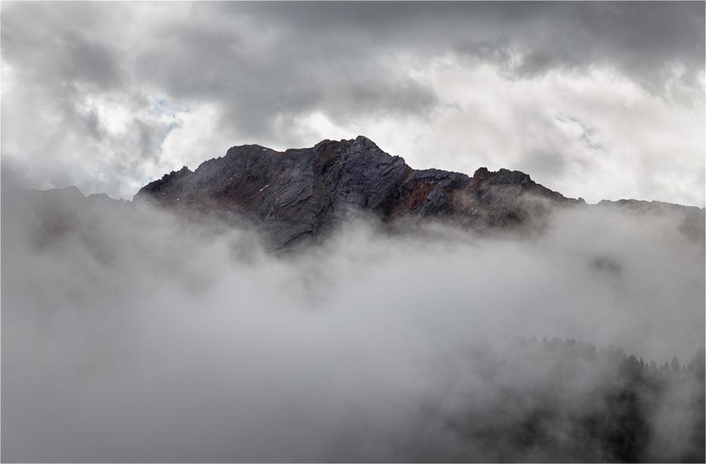 Das Fenster zum Berg