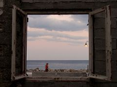 Das Fenster zum libyschen Meer