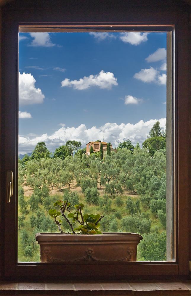 Das Fenster zur Toscana