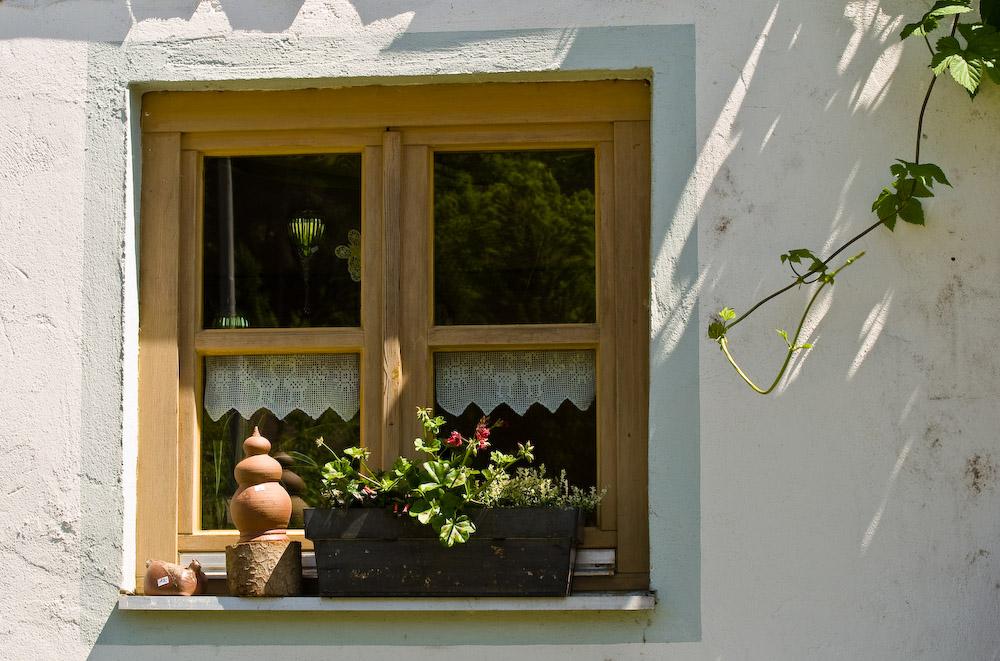 Das Fensterl zum Hof