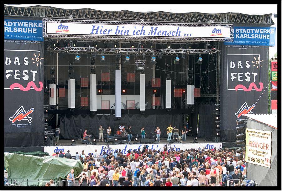 """DAS FEST"" in Karlsruhe"