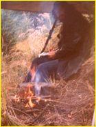 Das Feuer ...