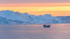 das fischen in der arktis