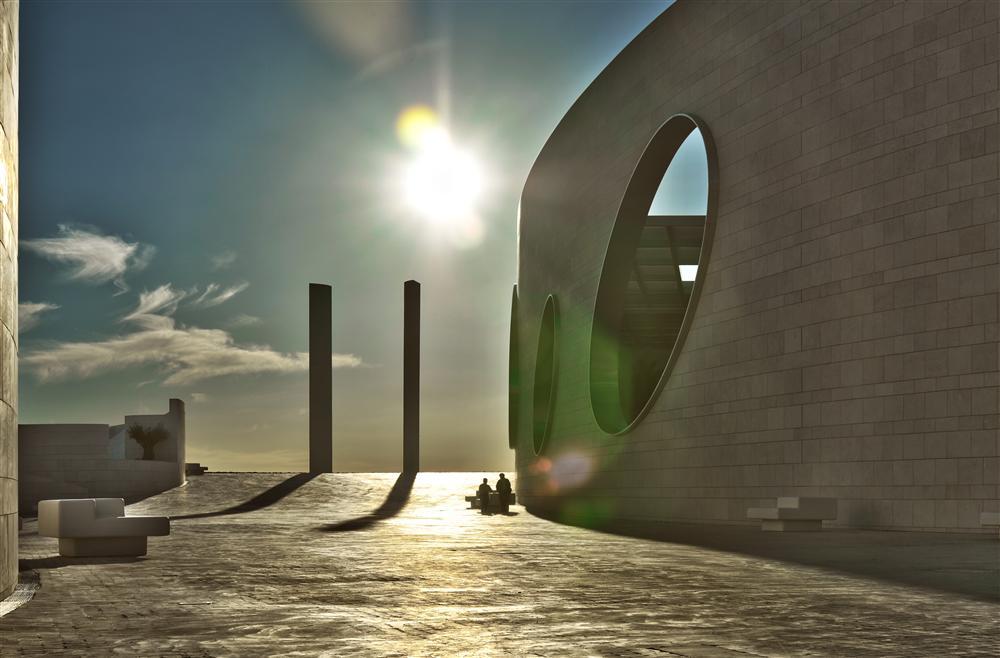 "Das Forschungszentrum ""FUNDAÇÃO CHAMPALIMAUD"" in Lissabon (I)"